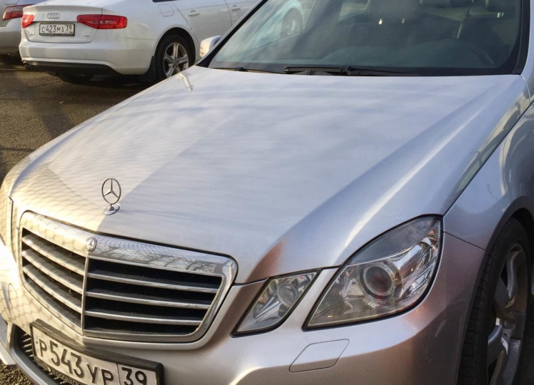 Mercedes E200 CGI