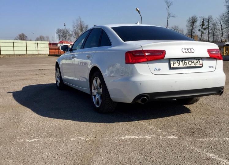 Audi A6 2014 фото 1