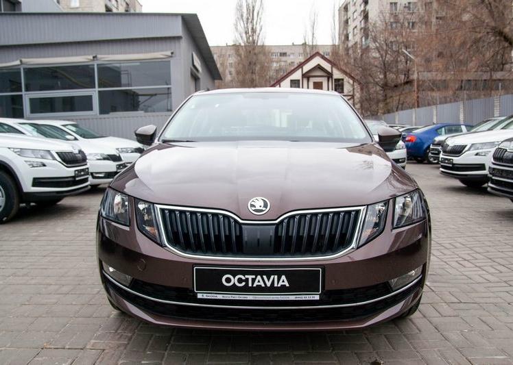 Shkoda Octavia 2020 фото 2
