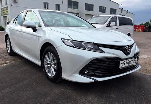 Прокат Toyota Camry 2020 в Калининграде