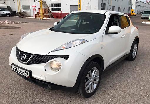 Прокат Nissan Jukeв Калининграде