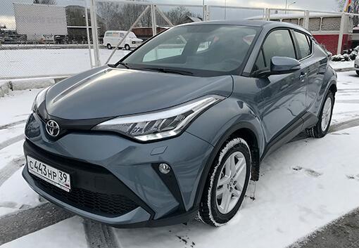 Аренда Toyota C-HR 2020 в Калининграде